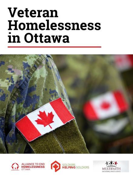 Veteran Homelessness In Ottawa