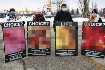 Opinion: Graphic Anti-Abortion Material Is Hate Speech