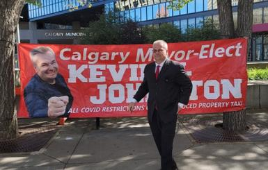 Racist Calgary Mayoral Candidate Kevin Johnston Encourages Voter Fraud