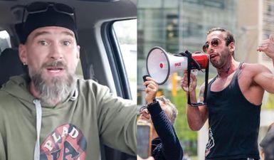 Anti-Masker Chris Saccoccia Makes Appearance On Antisemitic Show
