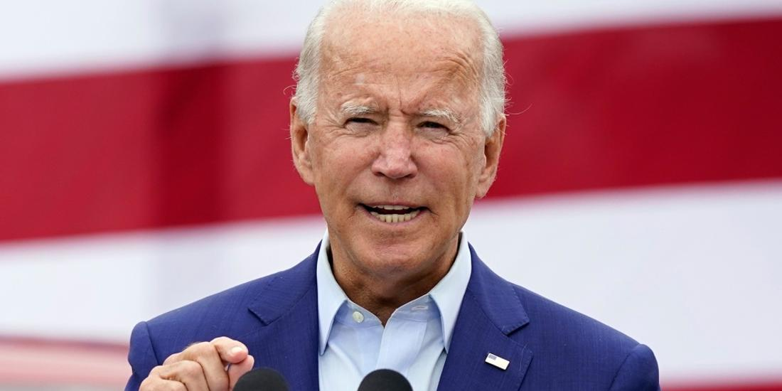 'No government contracts' for companies that don't manufacture in U.S., Biden vows