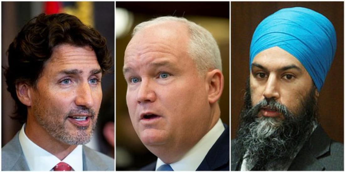 Nanos: Conservatives mired at 26% while NDP up at 20% and Liberals rise to 36%