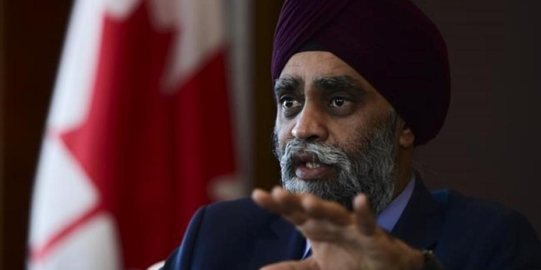 Tackling racism in armed forces urgent, will wait for next Commander: Sajjan
