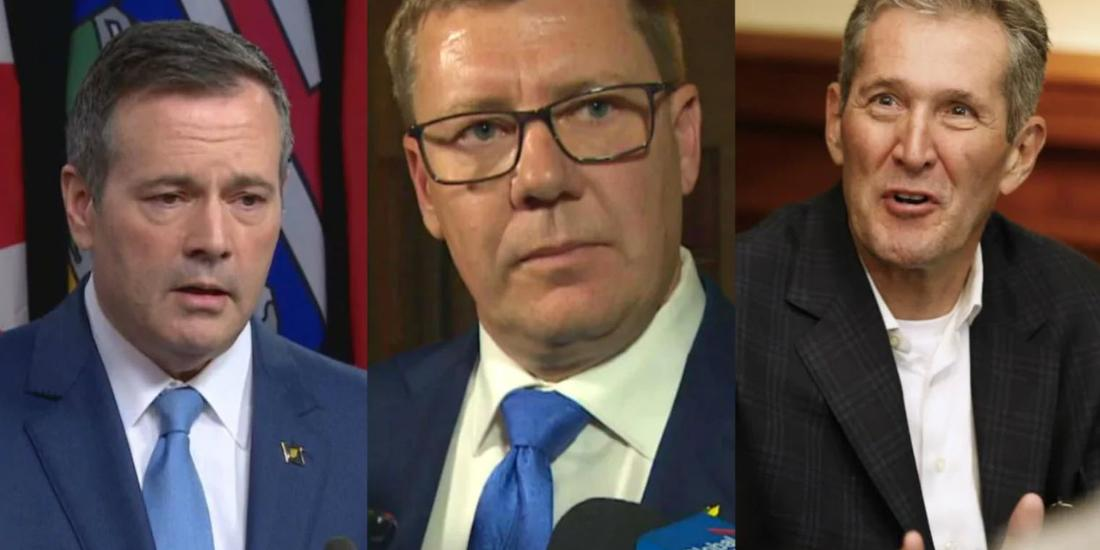 Prairie Premiers' COVID-19 job approval lowest in Canada, says Leger poll