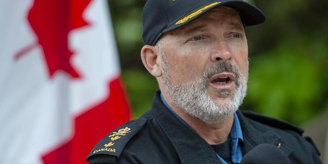 Read Admiral Craig Baines named Canada's new navy commander