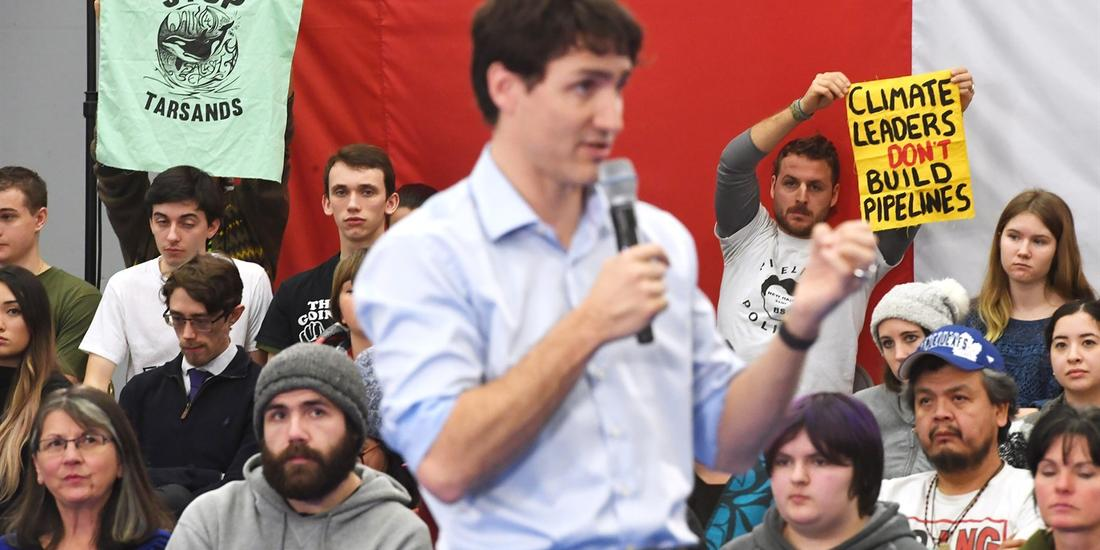 Trudeau 'disappointed' Biden has cancelled oilsands bitumen pipeline to Texas