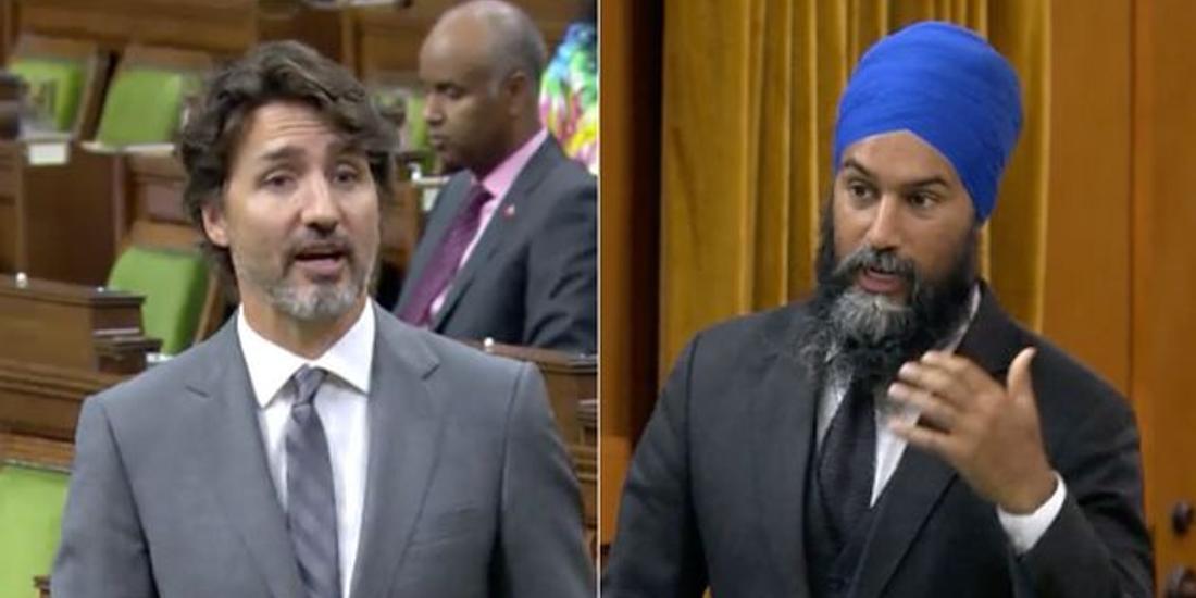 Singh demands Trudeau drop legal battle against First Nations children, survivors