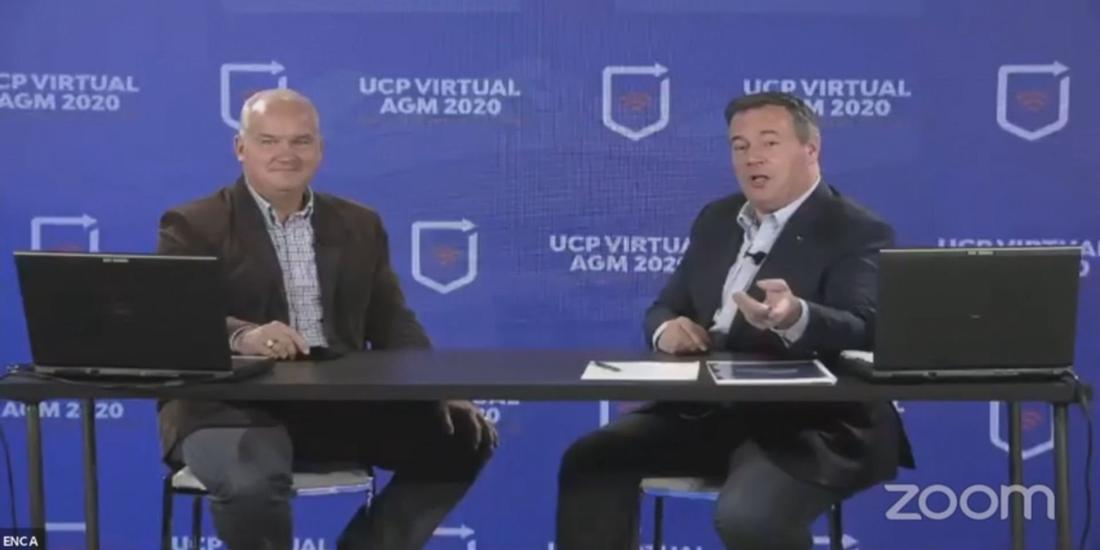 """O'Toole tells Alberta UCP AGM Liberals were """"late and confused"""" on COVID response"""