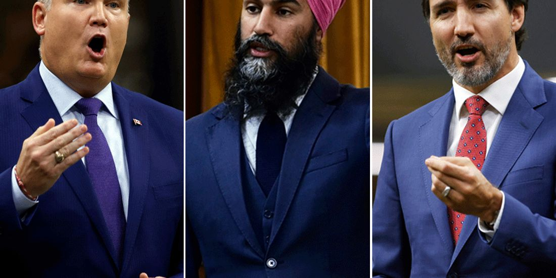 Conservatives fall to historical lows as Liberals and NDP rise, says trio of polls