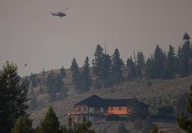 Wildfire devastates community of Monte Lake in B.C.'s southern Interior
