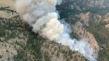 More evacuations ordered in B.C. as wildfires flare, fanned by strong winds