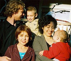 Alejandra and her family
