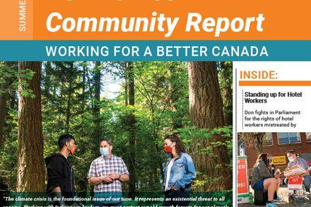 Summer 2021 Community Report