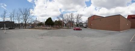 """""""Glashan Public School, outside yard.  Apr 18, 2015."""""""
