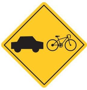 bike-car-caution