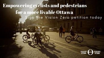 It's time for Ottawa to adopt Vision Zero