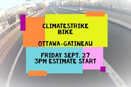 Join the Ottawa Climate Strike!