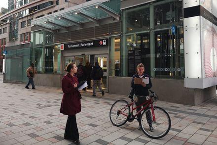 A citizen audit of green factors in Ottawa's light rail stations