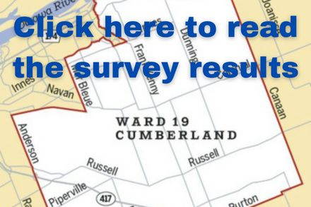 The results are in! - 6 Cumberland by-election candidates respond to Ecology Ottawa's survey