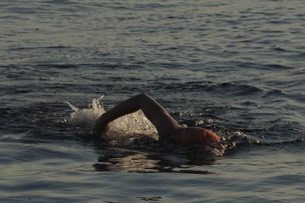 Georgia Strait Swim Success!