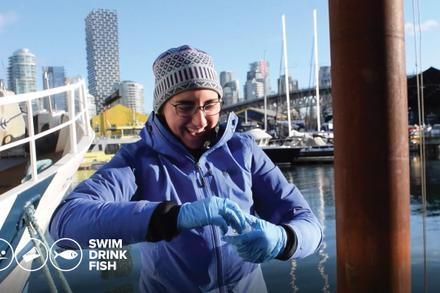 Video: What it takes to monitor the water in False Creek year-round