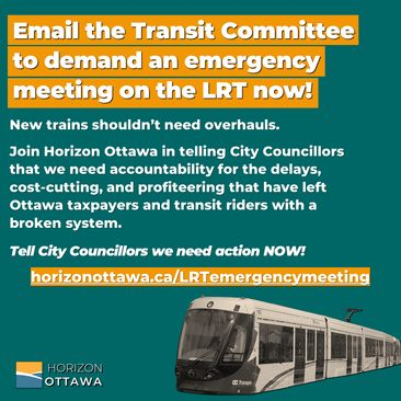 Email the Transit Committee to demand an emergency meeting on LRT now!
