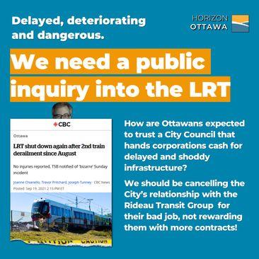 Demand Accountability on the LRT!