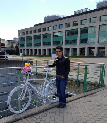 CTV: Ghost Bike at City Hall