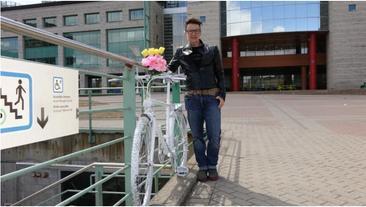 CBC: Ghost bike marks scene of city's latest fatal crash