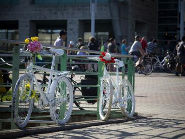 Ottawa Citizen: Cyclists gather at city hall to mourn Orléans teen, press for safety improvements