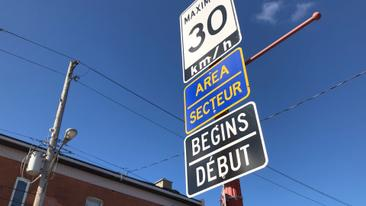 CTV Ottawa - More residential speed limits going to 30 km/h