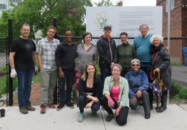 The Off Bank Community Garden: Partnership pays off for developers and residents