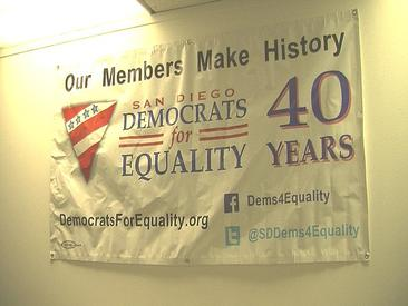 KPBS: San Diego LGBT Democrats Launch Voter Registration Drive