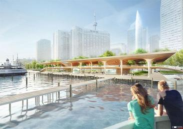 What the new Jack Layton Ferry Terminal will look like