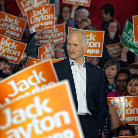 Leading the federal NDP