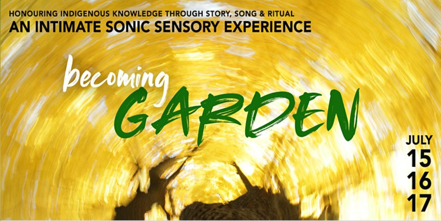 Becoming Garden promotional graphic