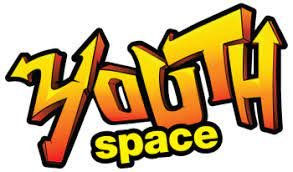 """A poster that says """"Youth Space"""""""