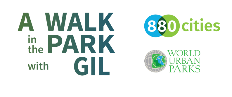 A Walk in the Park with Gil promotional graphic