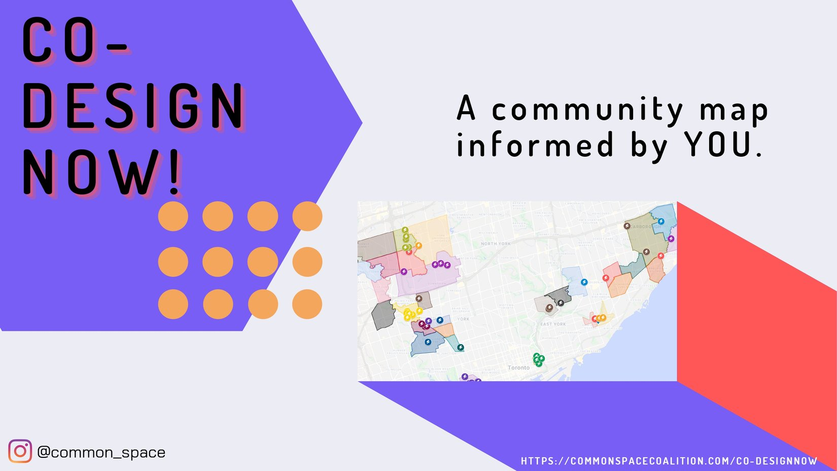 Common Space Coalition interactive map promotion