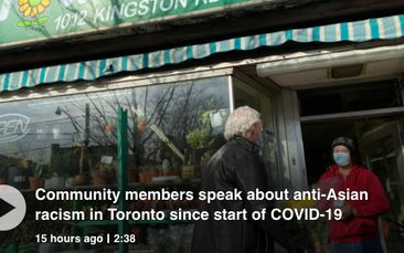 Community members speak about anti-Asian racism in Toronto since start of COVID-19
