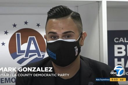 Mark Gonzalez is one of California's 55 electors and Chair of LA County Democratic Party