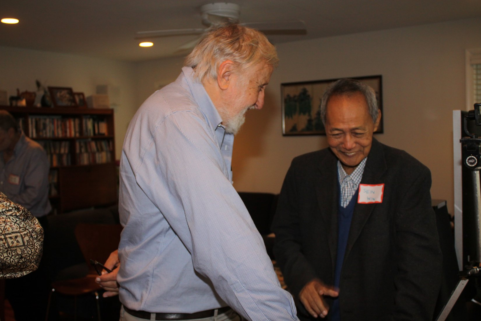 Friends of Nonviolence International getting to know each other