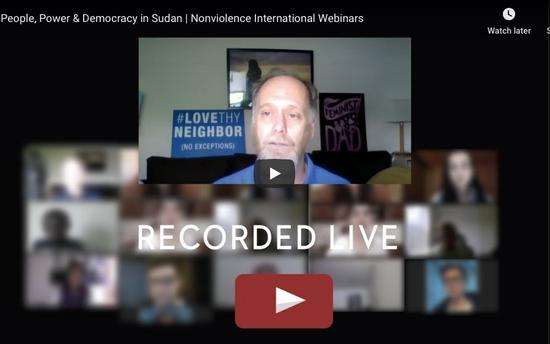Sudanese leaders and US Representative Pramila Jayapal speaking about the people power nonviolent revolution in Sudan