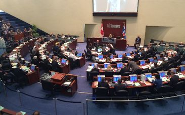 ProudPolitics' Statement on Ontario proposal to reduce Toronto City Council seats in half, mid-campaign