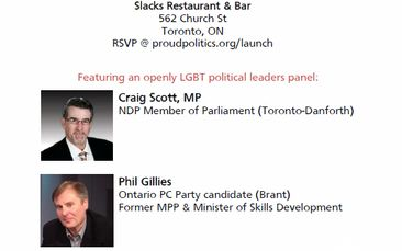 """""""LGBT Leaders, Proud to Lead"""" - ProudPolitics Launch Event"""