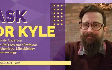 SEIU-West Presents: Ask Dr Kyle Anderson