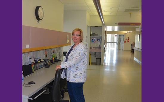 Donna - Unit Assistant/Clerk at Saskatoon City Hospital