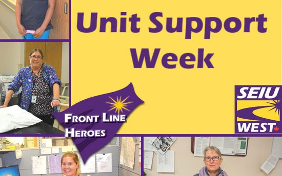 Unit Support Week: June 7- 13, 2020
