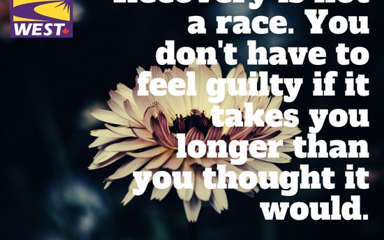 Addiction Recovery is not a race- Addiction Awareness Week 2019