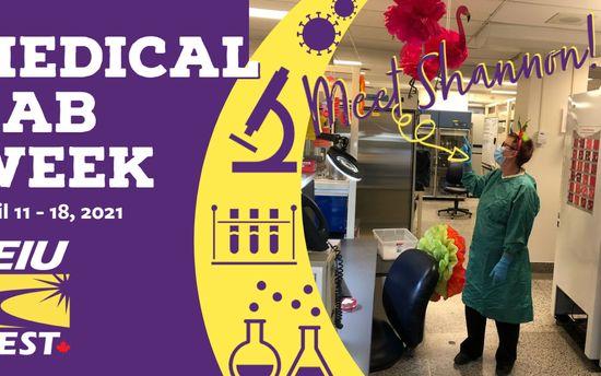 Medical Laboratory  Week 2021: Shannon
